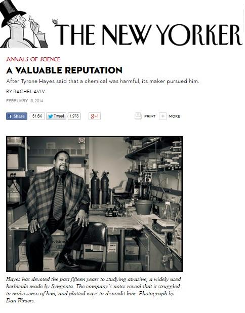 New Yorker Rachel Aviv Tyrone Hayes